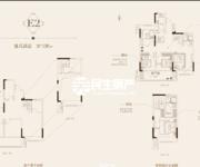 中御公馆E2-国華130㎡复式高层户型图