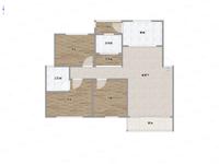 出售云龙阳光地带3室2厅2卫114平米162万住宅