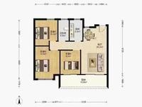 出售信达翡丽世家3室1厅1卫106.17平米146.5万住宅